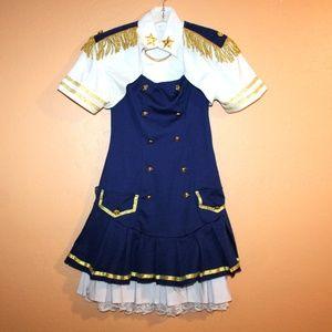 Captains Uniform Costume